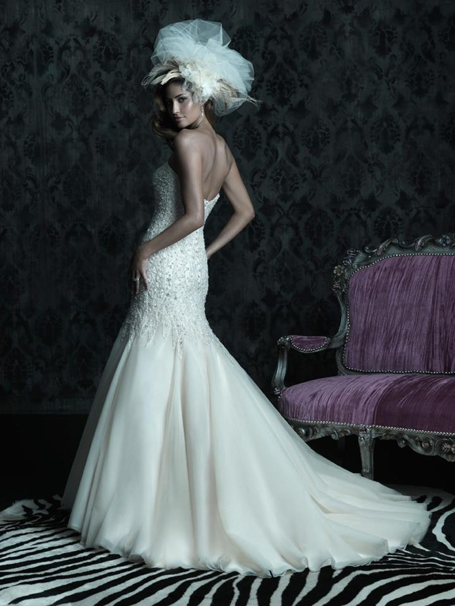 9 best GOWNS: Allure Couture images on Pinterest   Wedding frocks ...