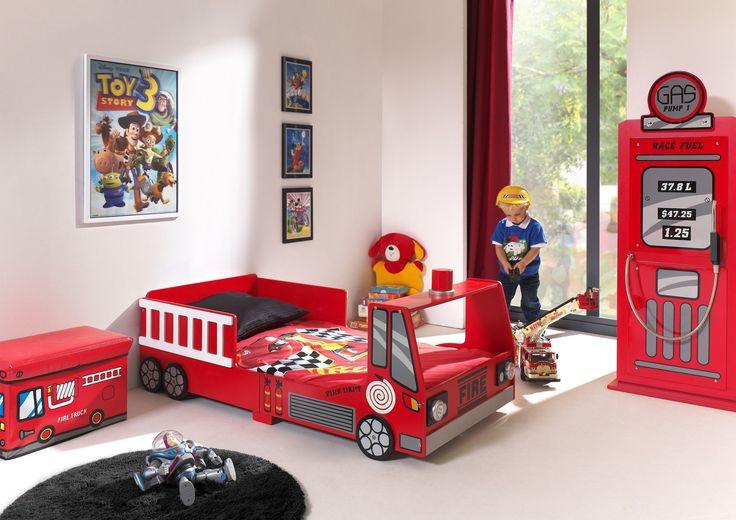 Łóżko Straż Pożarna dla dziecka 140x70cm http://dladziecka-net.pl/