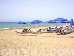 Foto delle spiagge di Rethymno: La spiaggia di Platanias, Rethymno