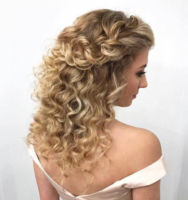 Best 25+ Braided half updo ideas on Pinterest | Wedding ...