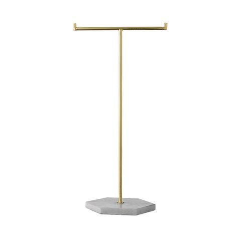 Jewellery Stand | Marble + Gold  Bloomingville #denmarkdesign   #womangifts #girlgifts www.ilkahome.com | @ilkahome