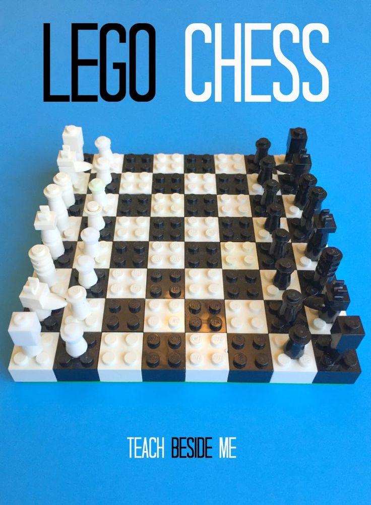 Schachspiel aus LEGO zusammenstellen *** DIY LEGO Chess Set - Playful learning of that wonderful game