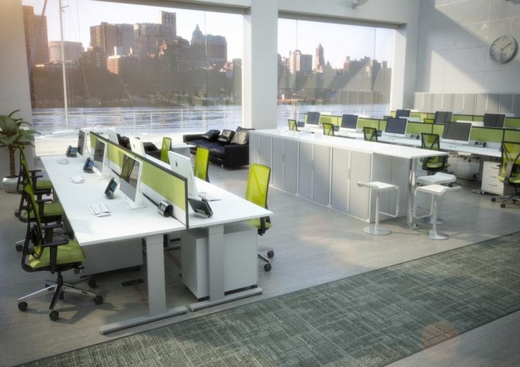The 25 best office layouts ideas on pinterest home for Open plan office design