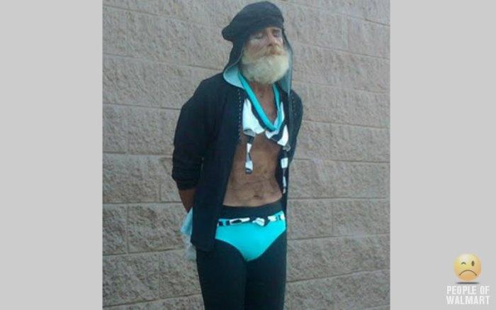 ummm Excuse me sir....your bikini top is untied....