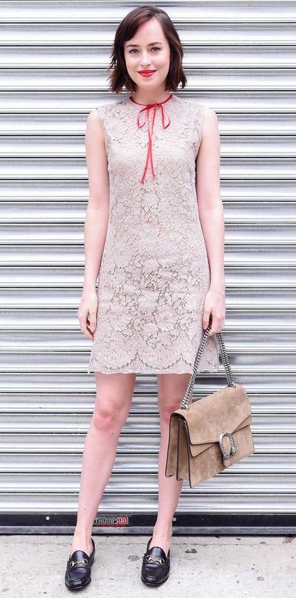 • Dakota Johnson in Gucci •