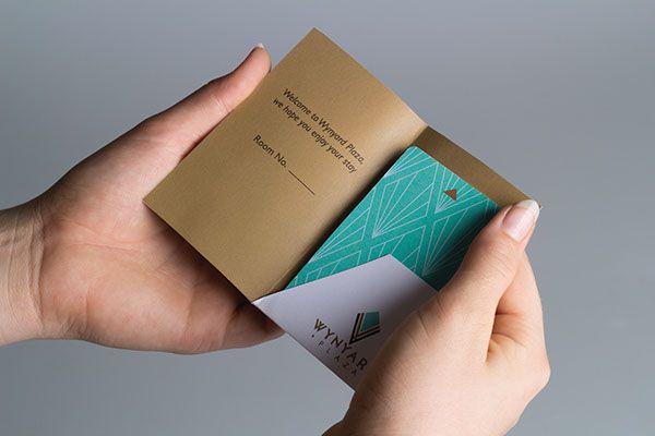 Keycard design for Wynyard Plaza - Hotel Identity on Behance