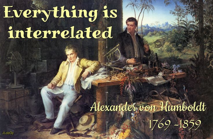 Eduard Ender (Austrian, 1822-1883). Alexander von Humboldt and Bonpland in the Jungle Hut, ca. 1850. Archive of the Berlin-Brandenburg Academy of Sciences and Humanities.
