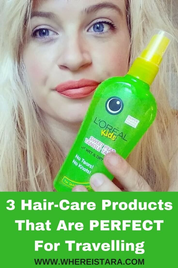 Taking care of your hair isn't always easy when travelling. So I'm sharing some of my favourite hair care products for travelling with you. It's mostly about how to tame long hair while travelling, but the products could be used on medium or short hair too. There's detangle spray, detangler combs and more.