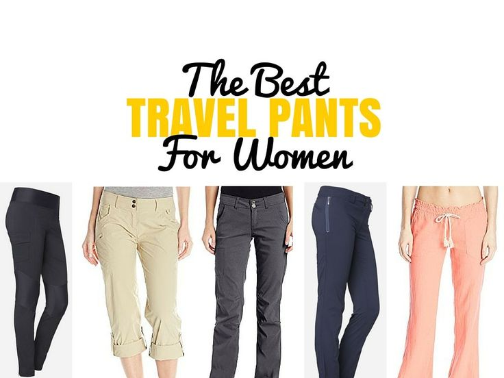 If you do any amount of traveling, you should definitely consider purchasing a good pair of travel pants - here are the best travel pants for women.