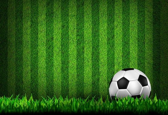 Football Green Grass Photography Backdrop Soccer Theme Etsy In 2020 Football Wallpaper Soccer Theme Sports Wallpapers