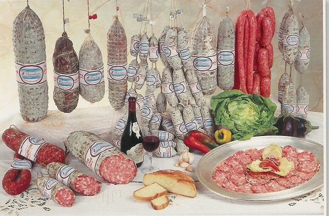 Codeghi , salam , lard , panseta - Salumificio Bonalumi