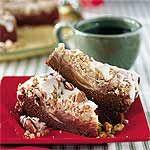Chocolate-Cream Cheese Coffee Cake Recipe ~ a Southern Living Christmas