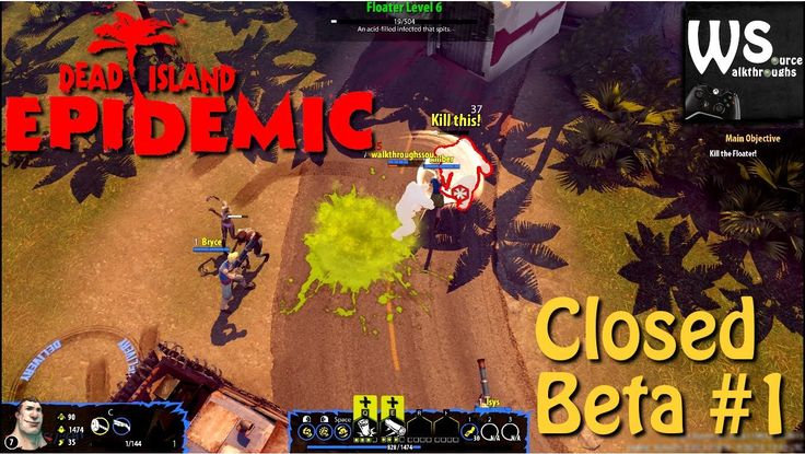 Prolog of Dead Island Epidemic - beta test