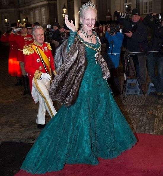 Newmyroyals: New Year's Reception 2018, Amalienborg Palace, January 1, 2018-Queen Margrethe