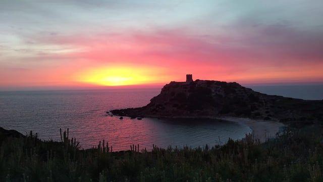 Another Amazing sunset at Torre del Porticciolo - Alghero - Sardinia
