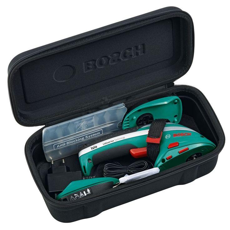 Bosch Green Isio 3 6v Shrub Grass Cordless Shear Set In Carry Case 0600833172 Garden Tasks Bosch Ideal Shape