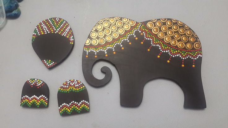 Image result for tecnica de pintura en elefante hindu