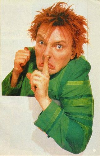 Rik Mayall in Drop Dead Fred. Never forget to have fun.