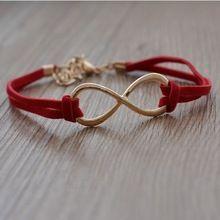 2015 nieuwe! Hot fijne sieraden groothandel gilded onbeperkt leer vele kleuren weave armbanden & bangles voor vrouwen B-1(China (Mainland))