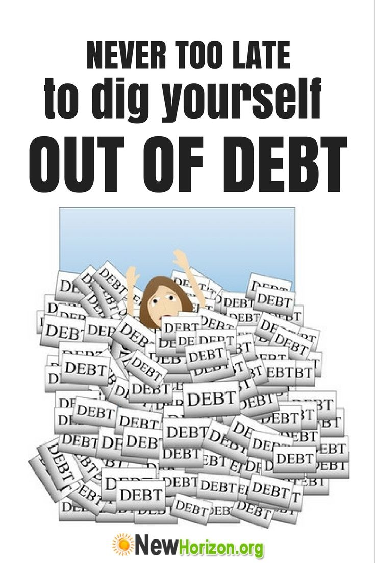 how to get out of debt with bad credit