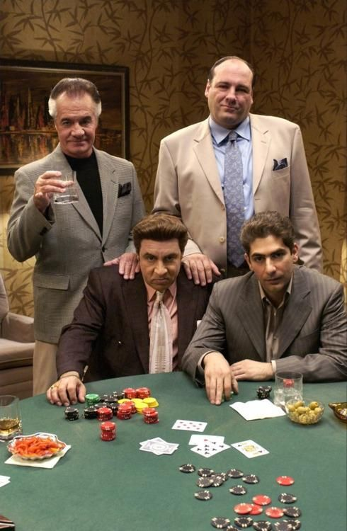 "The Sopranos - Christopher - ""Whatever you do, don't engage Silvio in conversation, he can be a sick fuck when He's gambling"". Silvio ""....I stick motherfucking' provolone in my socks at night, so they smell like your sisters crotch in the morning!"" #GangsterFlick"