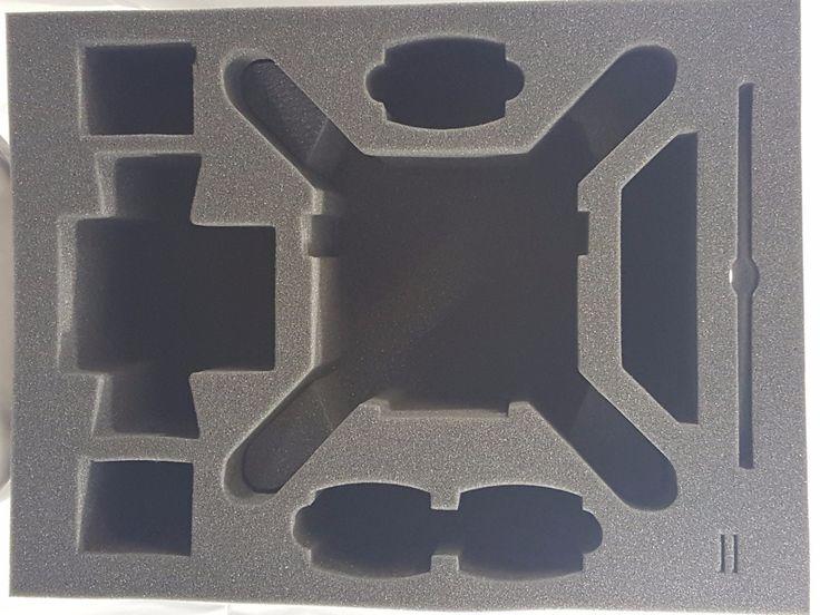Pelican Case 1610 Foam Insert for Phantom 4 Drone - Will Also fit the Phantom 3