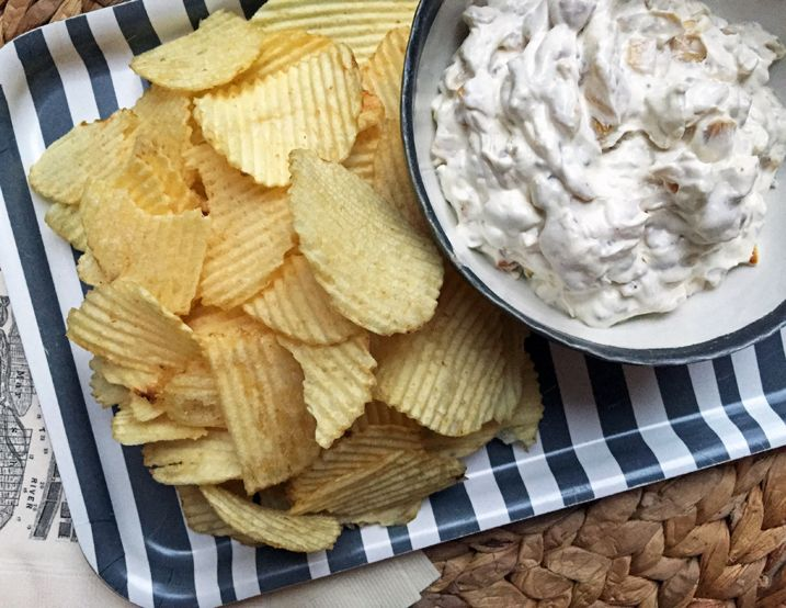 Get Alton Brown's recipe for Onion Dip made from scratch. The best all-purpuse sour cream drip base is in fact a combination of two parts.