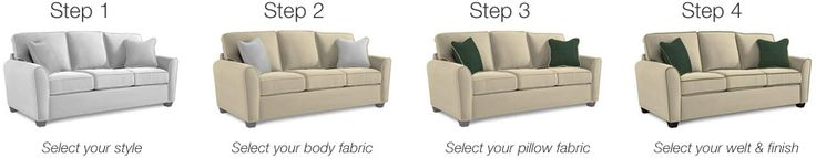 Use this online tool to design build and print out your custom sofa designs.  Fab!