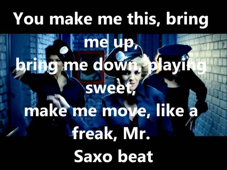 Alexandra Stan - Mr. Saxo Beat (lyrics)
