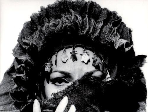 Maria Callas in beautiful, dark, lush, flexible, wide-ranging, devastated Medea  (Pier Paolo Pasolini, 1969)-by Mario Tursi