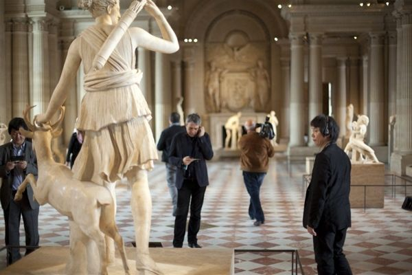 Nintendo 3DS Interactive Tour Guide Of The Louvre Gallery