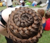 Inspiring picture braid, hair, intriquet, waterfall. Resolution: 500x331 px. Find the picture to your taste!