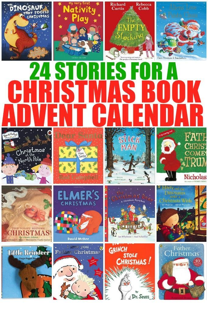 24 Stories for a Christmas Book Advent Calendar - Crafts on Sea