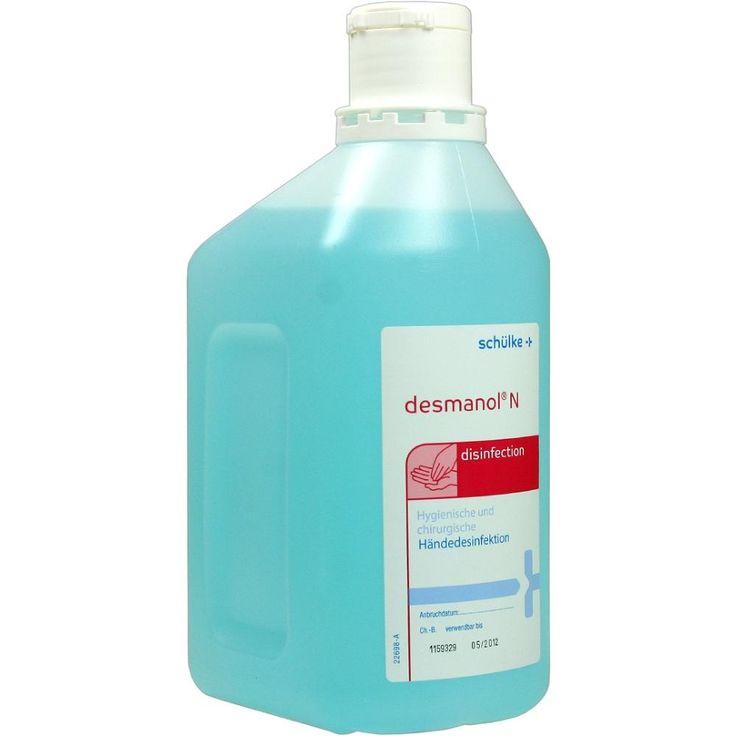 DESMANOL N hygienische + chirurgische Händedesinfektion:   Packungsinhalt: 1000 ml Lösung PZN: 05555501 Hersteller: SCHÜLKE & MAYR GmbH…