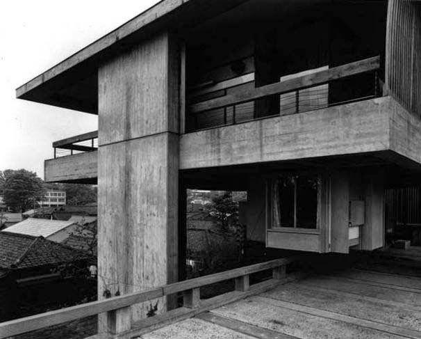 Kikutake S Sky House Tokyo An 1958 Architect Kiyonori