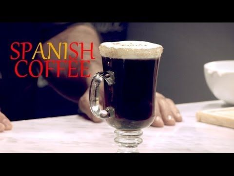 How To Make A Spanish Coffee | Savory Cocktails - YouTube