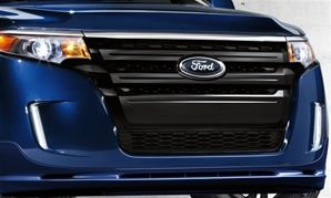 2011-2014 Ford Edge Painted Grille Inserts, Primed
