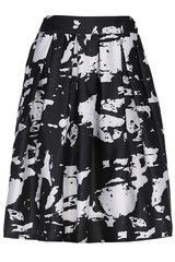 #MYTRENDTWOWARDROBE Graffiti Print High Waist White Skirt | TrendTwo graffiti is hot right now!