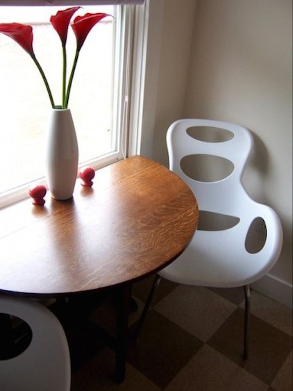 Amazing A Cozy Modern Breakfast Nook With Mid Century Modern Chairs By Lindsay  Hoekstra West Michigan