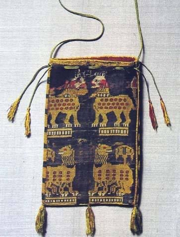 Pouch with lion pattern 9-10th century, now in St. Michael Colegiate Church, Beromunster