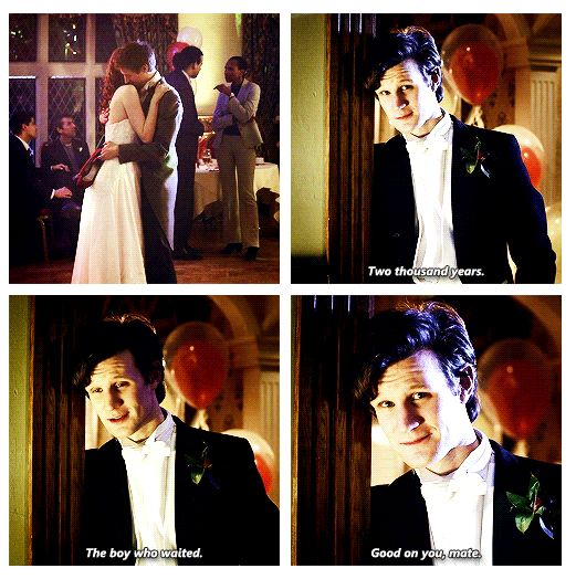 I would marry Rory Williams so fast it would rip a hole in time and space.<-----so perfect