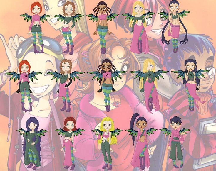 Картинки с куклами чародейками