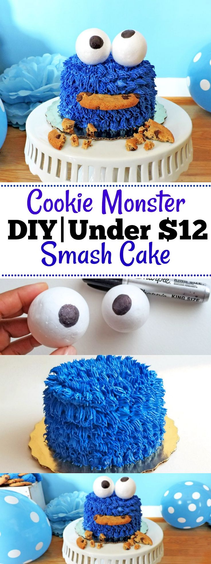 cookie monster cake best 25 smash cakes ideas on 3039