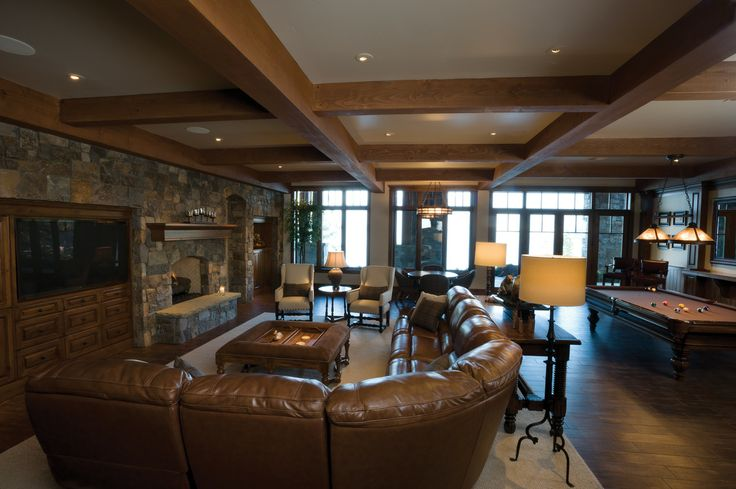 Ultimate Rec Room!!     Gallery - Custom Home Builder North Idaho - Rosenberger Construction
