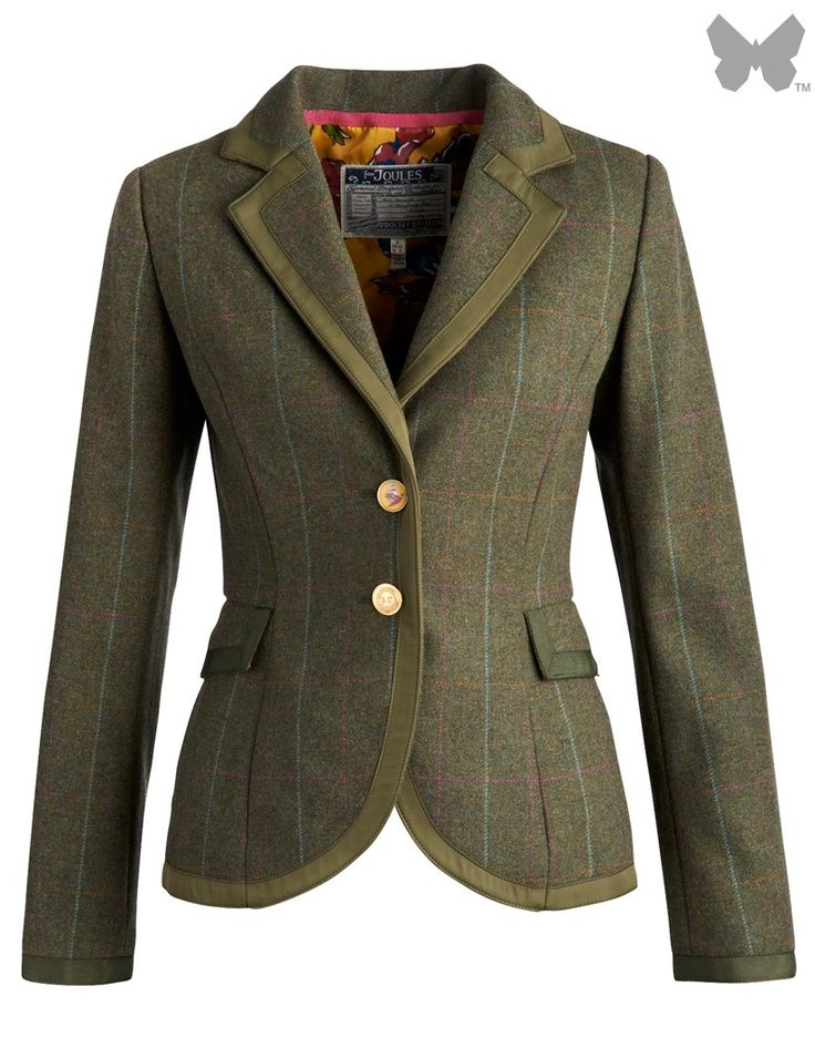 Joules Ladies' Charing Tweed Jacket – Balmoral O_CHARING   Country Attire