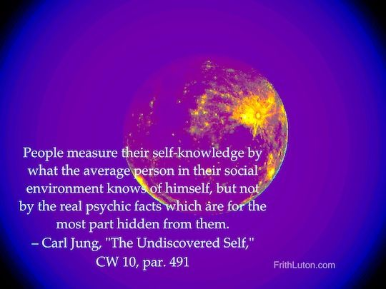 Carl jung the undiscovered self 2 essay
