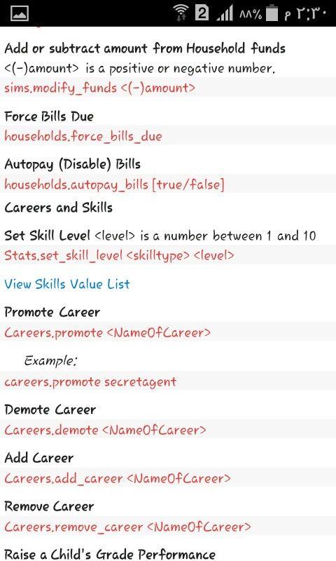 Sims 4 Cheat Aspiration