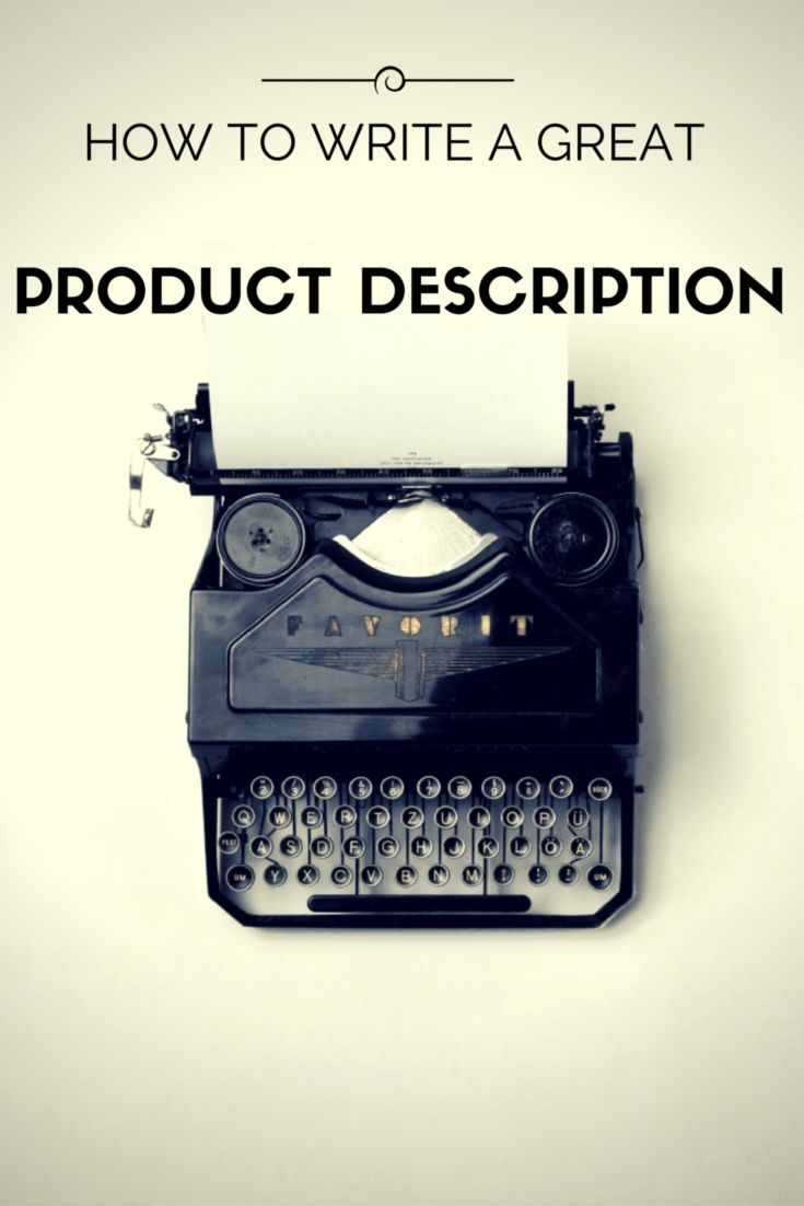 You have a great product to sell, but you don't know how to draw buyers in. Your product description has a lot to do with how your product is presented to potential buyers, so it's important to get it right. https://marmalead.com/blog/