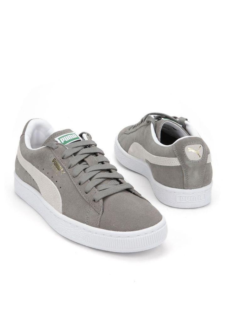 Puma sneaker  Description: Lichtgrijze sneakers van Puma. Deze damesschoenen hebben een bovenwerk gemaakt van suede leer. De binnenvoering is gemaakt van textiel en de schoenen hebben een kunststof zool.  Price: 55.99  Meer informatie
