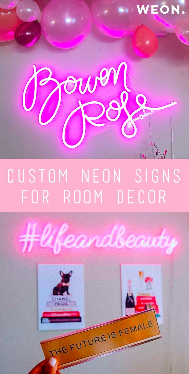 Custom Neon Sign for Room Decoration #customneonsign